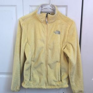 Yellow Fleece The North Face Jacket